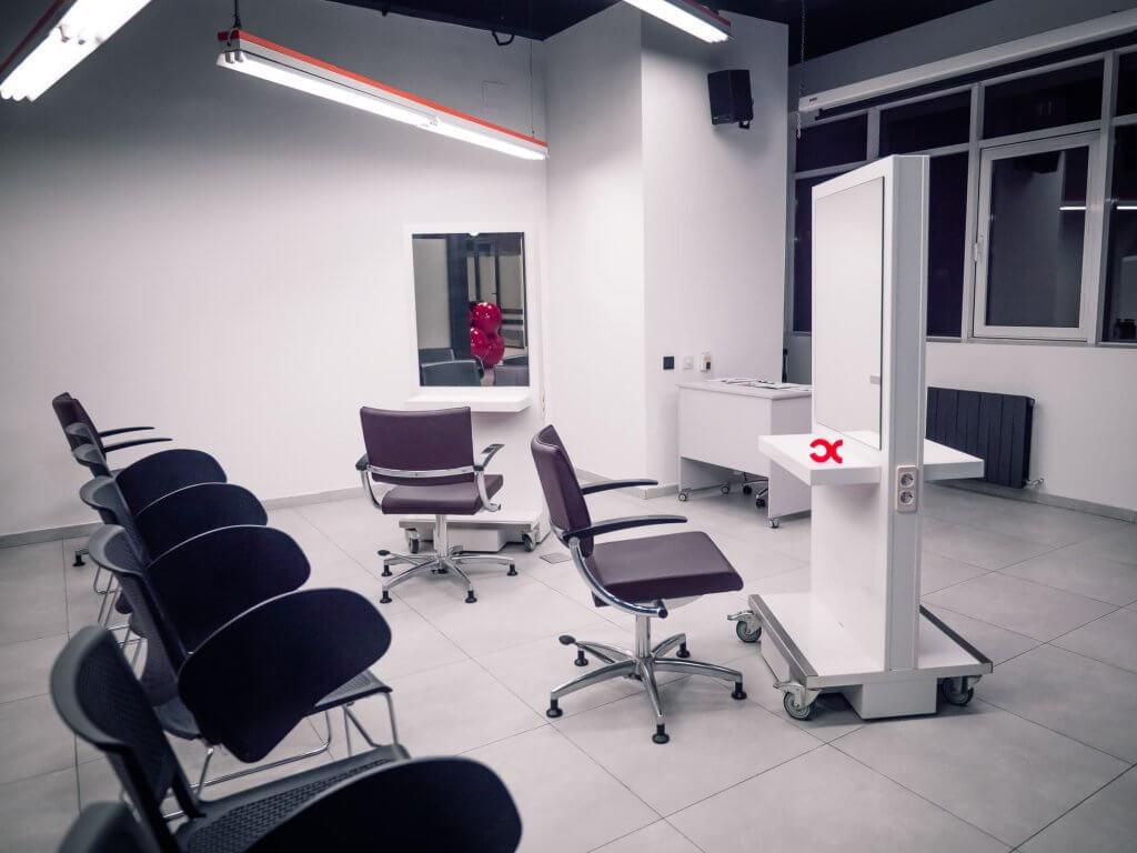 Оборудованные места для парикмахеров